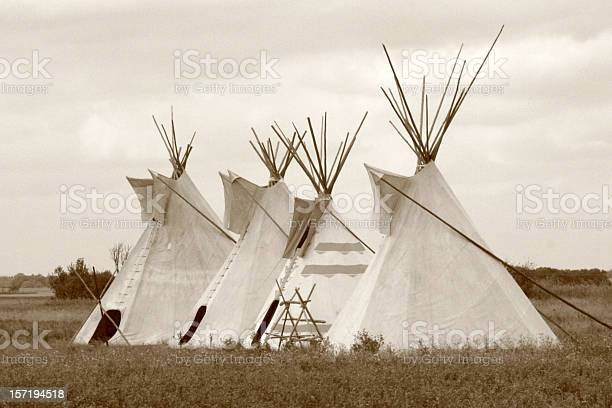 Photo of Four teepees