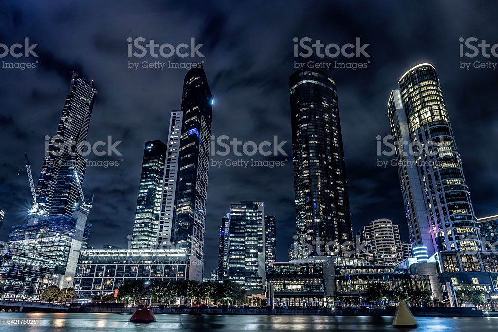Four Towers of Yarra stock photo