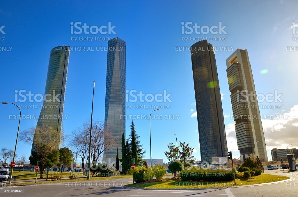 Cuatro towers - foto de stock