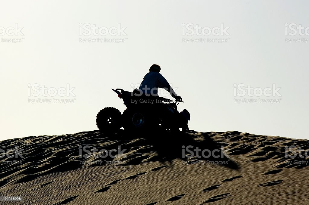 Four Wheel Motorbike stock photo