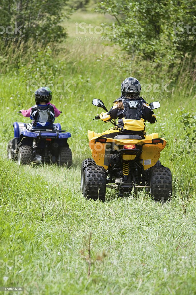 Four wheeling days. stock photo