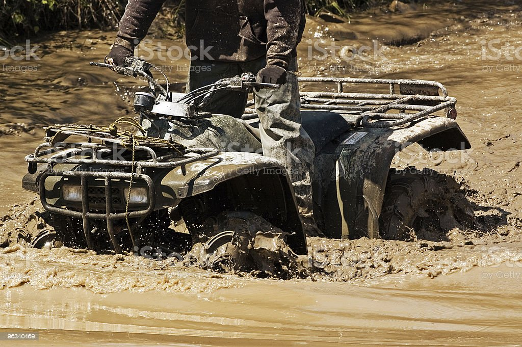 Four Wheeling stock photo