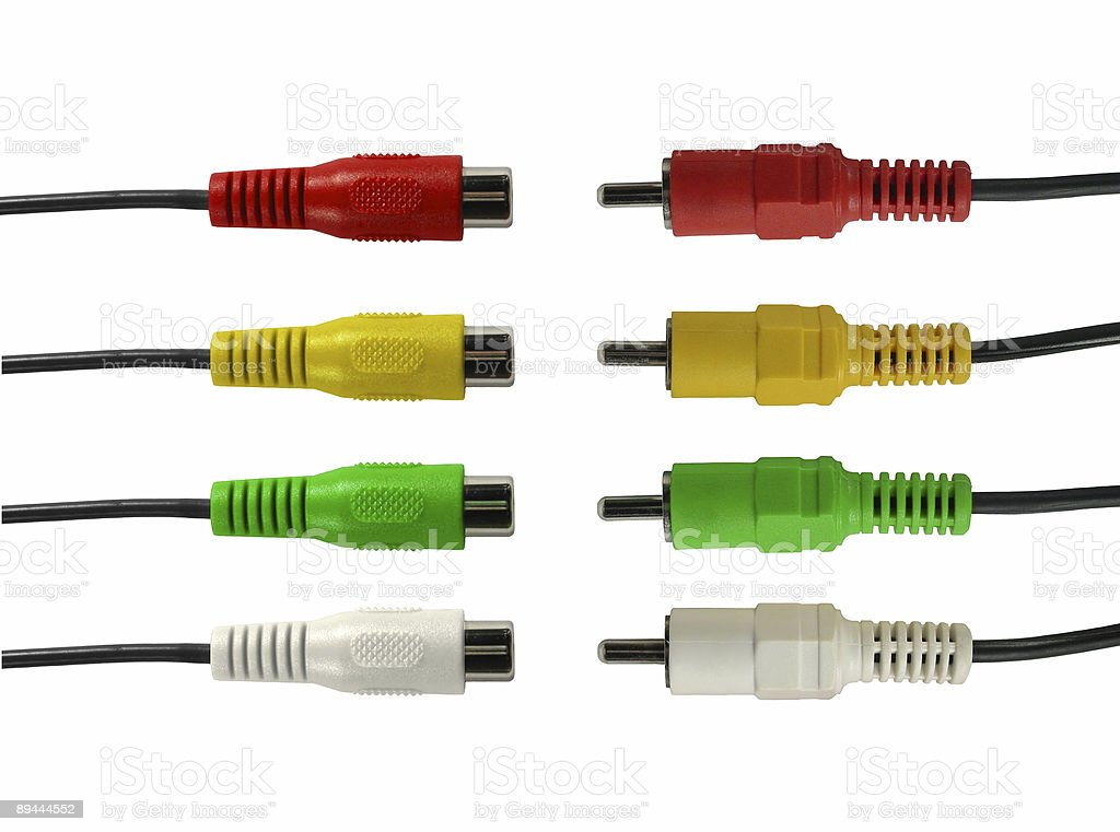 four wires royalty-free stock photo