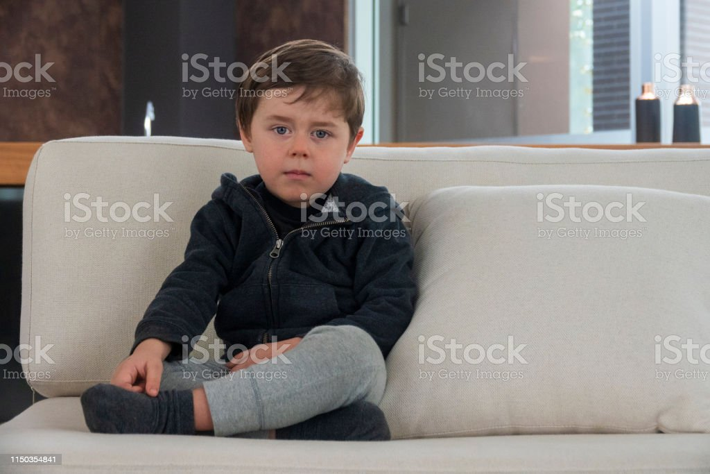 Four year old boy looking to the camera - Royalty-free 4-5 Years Stock Photo