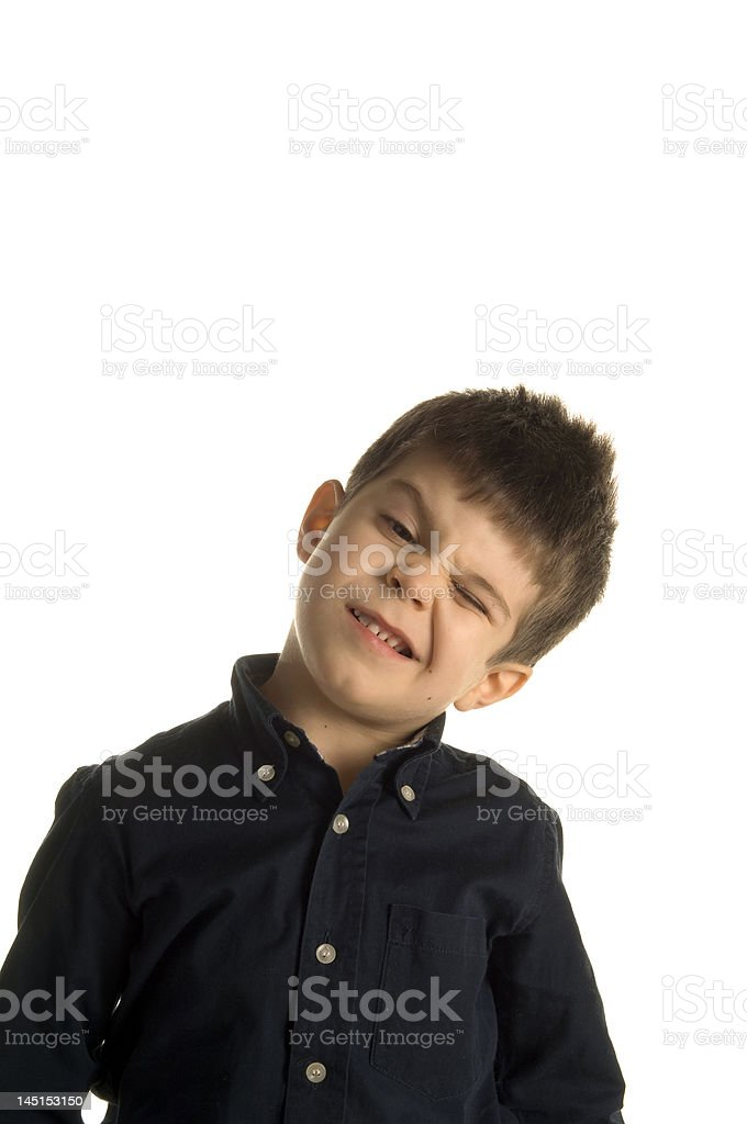 e2bacde84e08 Four Years Old Child With Funny Face Stock Photo & More Pictures of ...