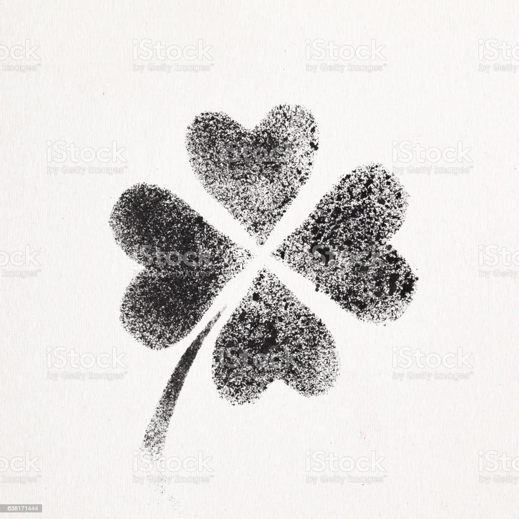 fourleaf irish clover stock vector art 638171444 istock