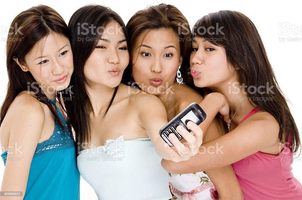 Foursome #7 royalty-free stock photo