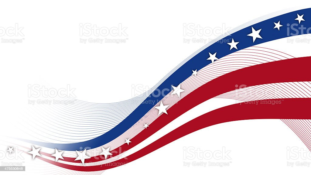 Fourth of July, Background, USA themed composite stock photo