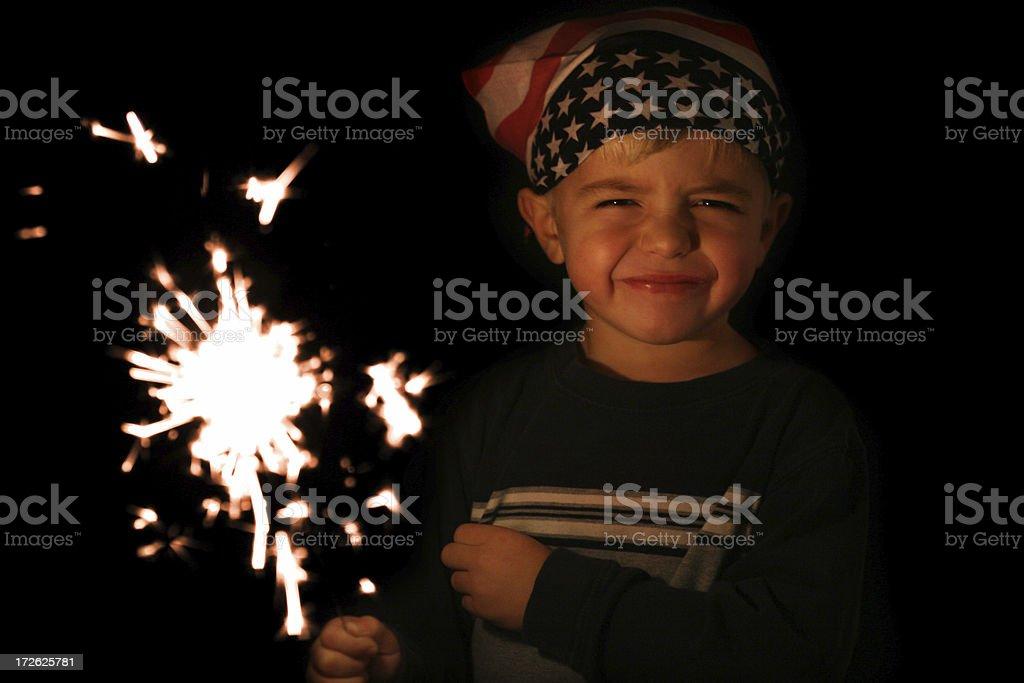 Fourth of July Celebration royalty-free stock photo