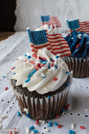 istock Fourth of July Cupcakes 1022324168