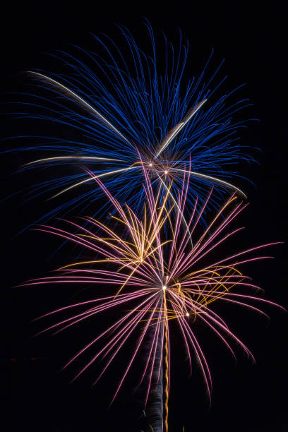 Fourth of July Fireworks Celebration stock photo
