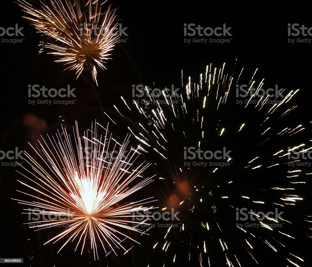 Fourth of July Fireworks royalty-free stock photo