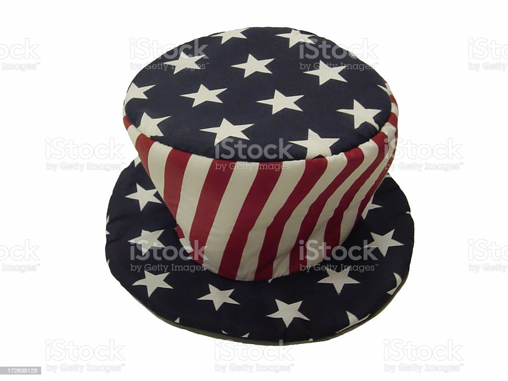 Fourth of July Hat royalty-free stock photo