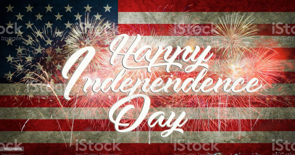 fourth of july independence day of the usa stock photo