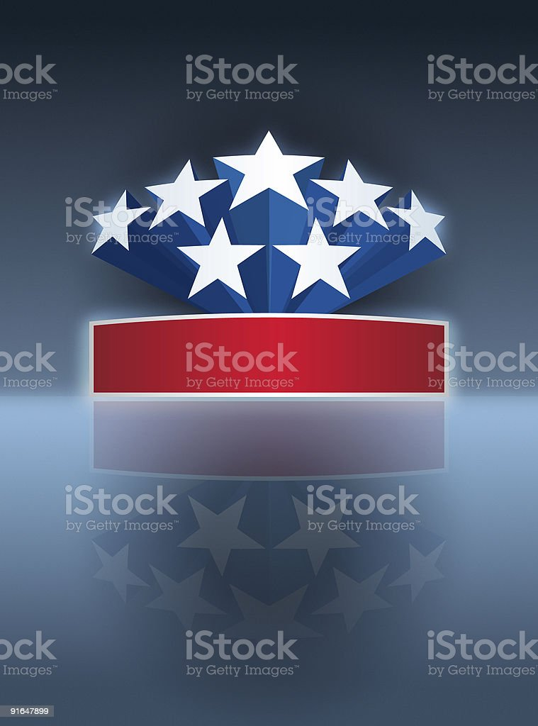 Fourth of July royalty-free stock photo