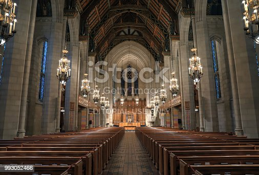istock Fourth Presbyterian in downtown Chicago 993052466