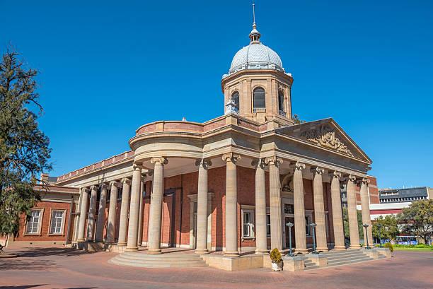 Fourth Raadzaal in Bloemfontein stock photo