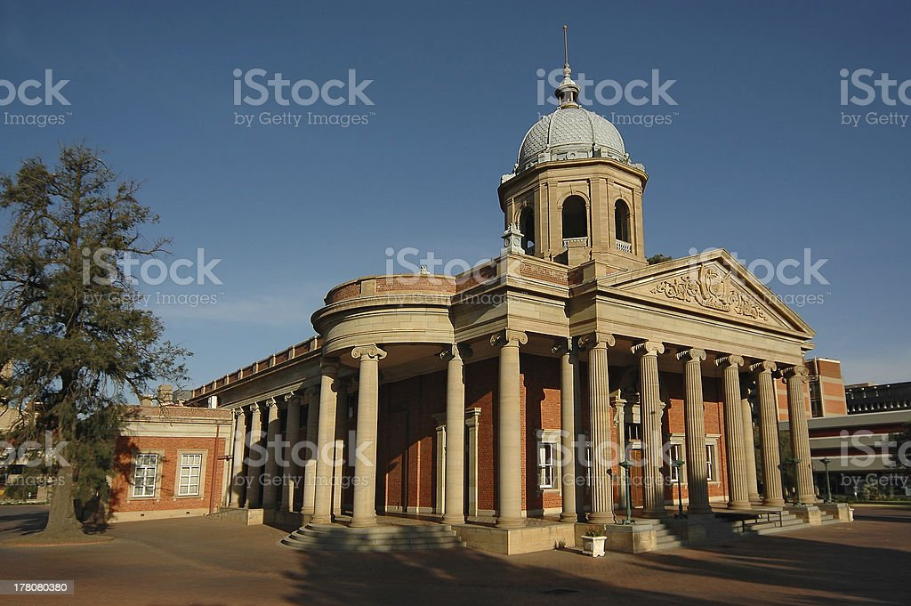 Fourth Raadzaal in Bloemfontein, South Africa stock photo