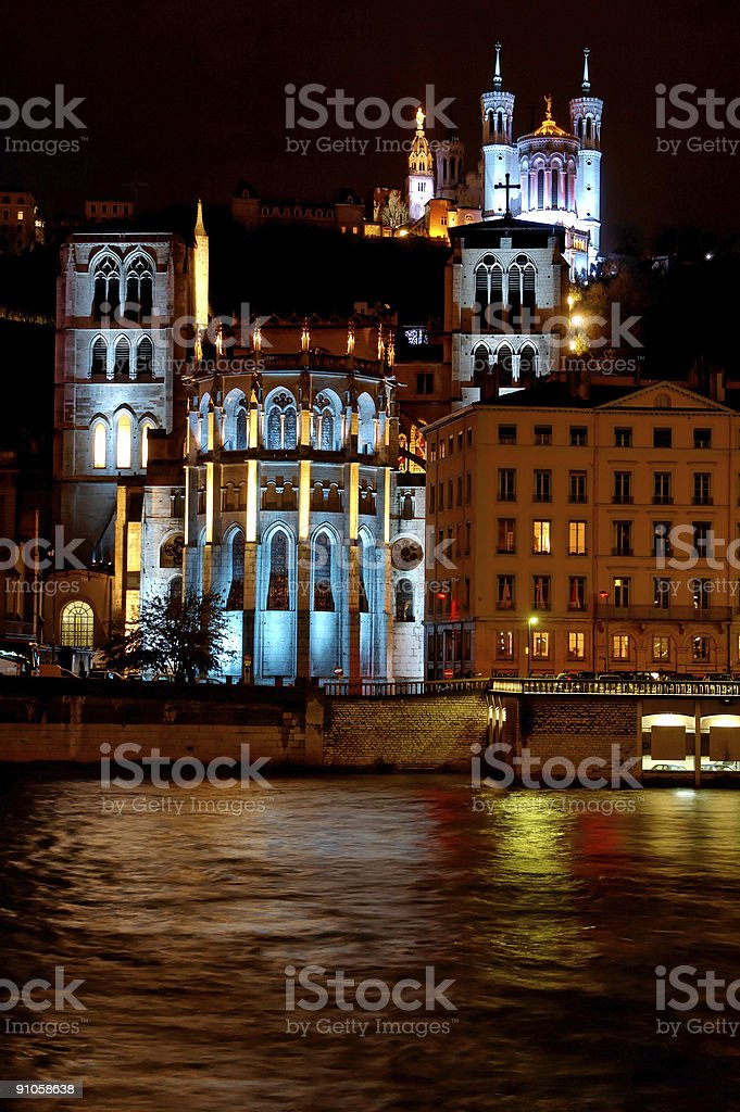 Fourviere Hill (Lyon, France) royalty-free stock photo
