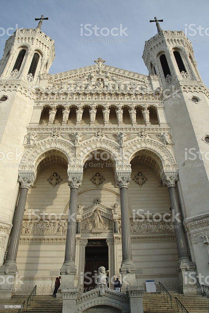 Fourviere (facade) royalty-free stock photo