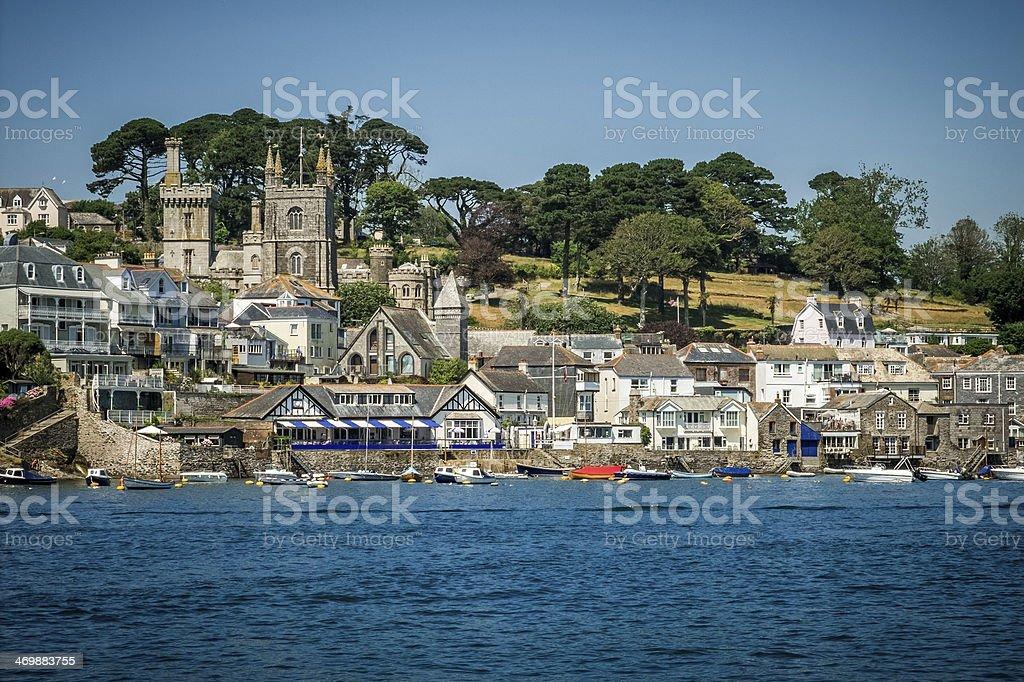 Fowey, Cornwall, England, United Kingdom royalty-free stock photo