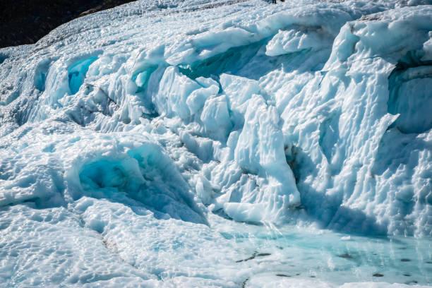 Fox Glacier New Zealand stock photo