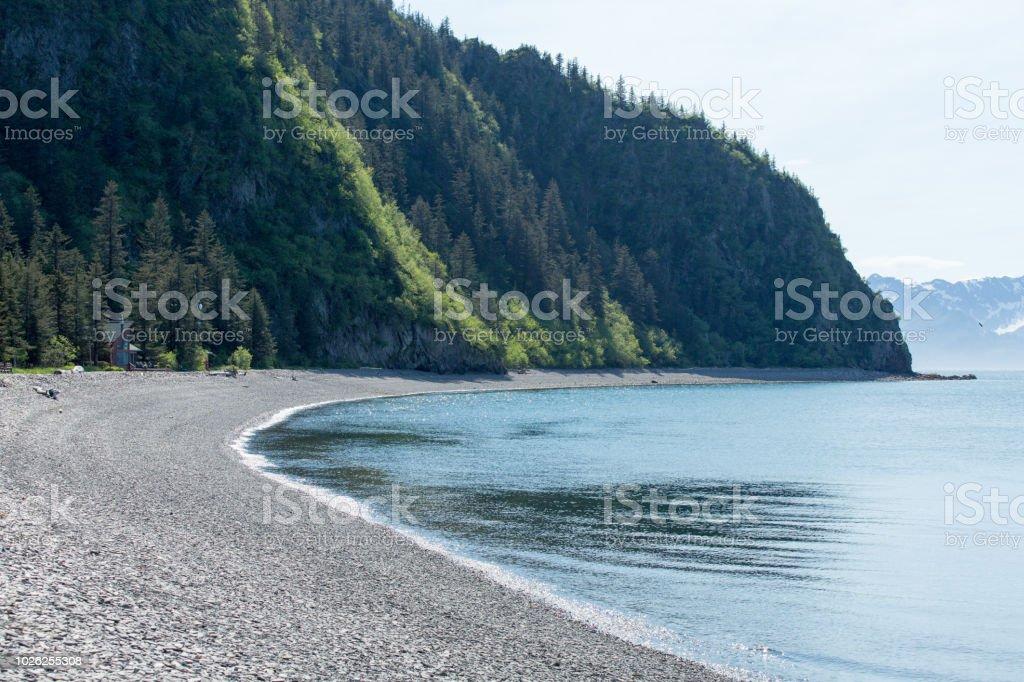 Fox Island stock photo