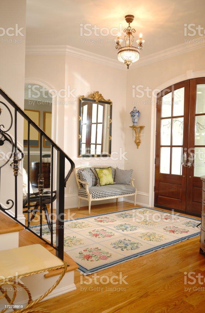 Foyer View royalty-free stock photo