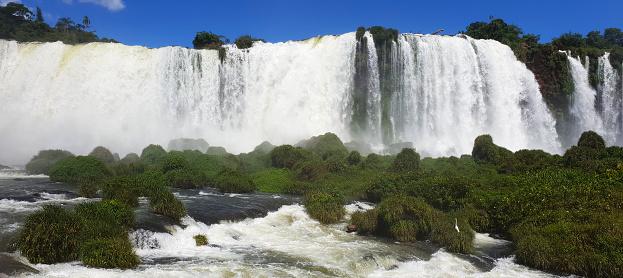 Foz do Iguaçu (Iguazu River Mouth), Waterfall between Argentina, Brazil and Uruguay