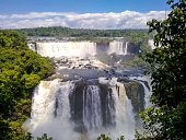 Foz do Iguazu waterfall limpid waters of the eight wonders of the world