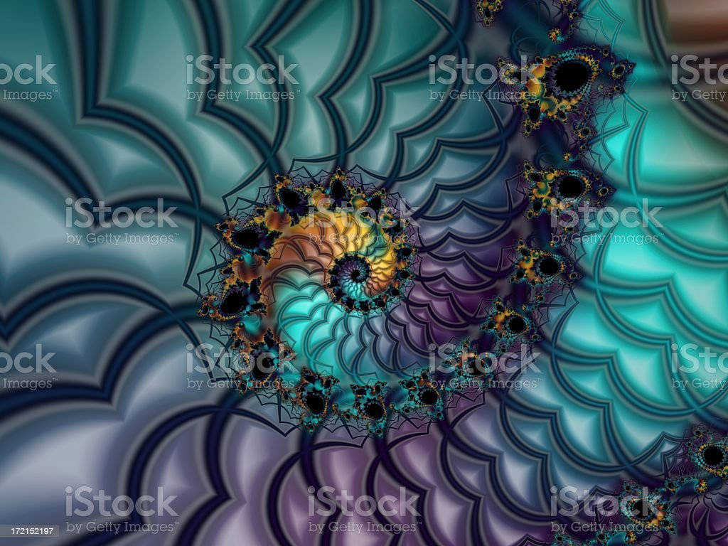 Fractal 1 royalty-free stock photo
