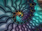 Fractal image created with UltraFractal.