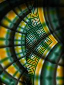 Fractal image that looks similar to a stained glass window.Other fractal images: