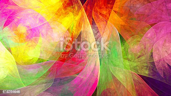 istock Fractal abstract pattern. 616254646