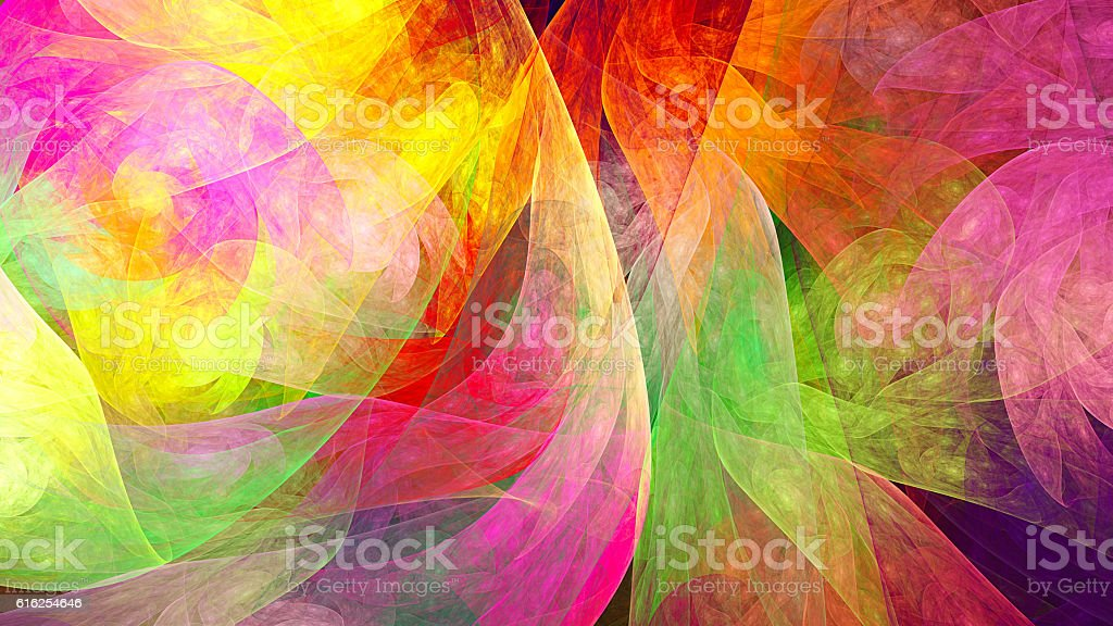 Fractal abstract pattern. stock photo