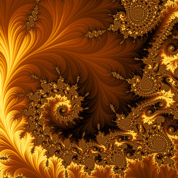 fractal background - fractal stock photos and pictures