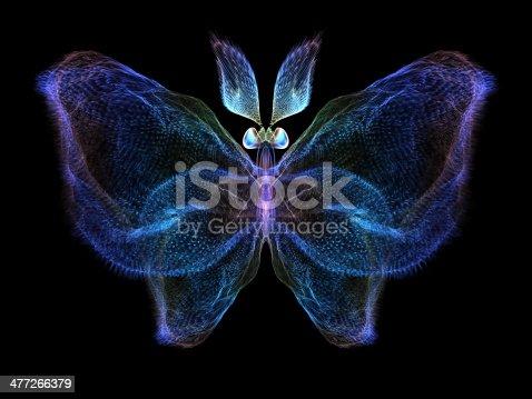 istock Fractal Butterfly 477266379