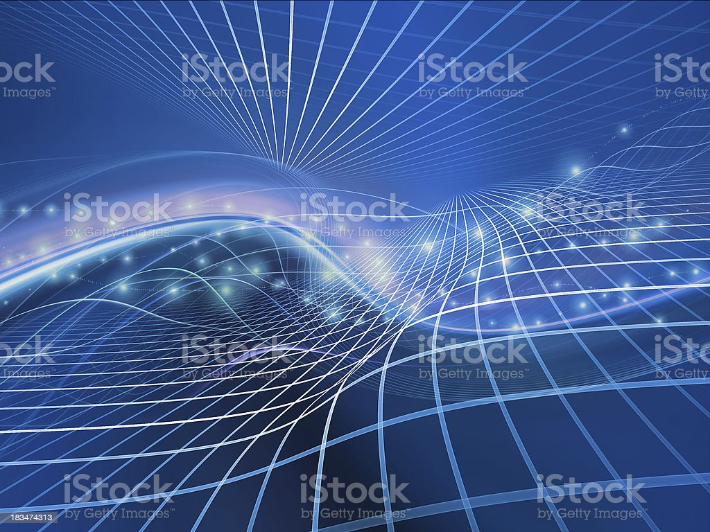 Fractal Realms Metaphor royalty-free stock photo
