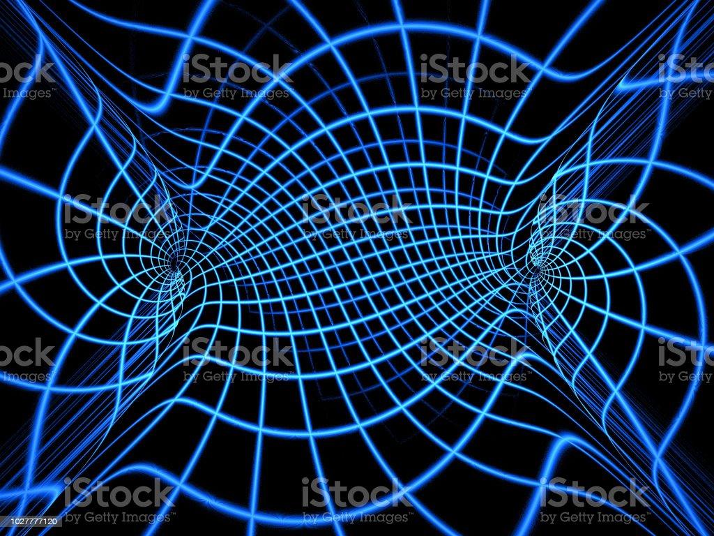 Wissenschaft und Technik Fraktalgeometrie. – Foto