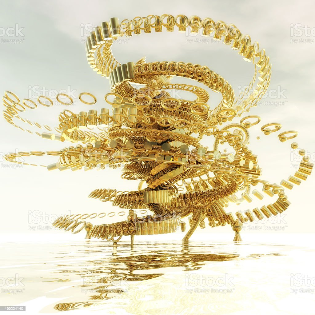 Fractal Structure stock photo