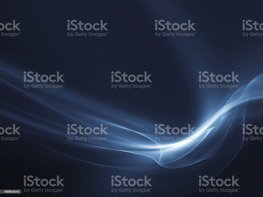 Fractal Waves Background royalty-free stock photo