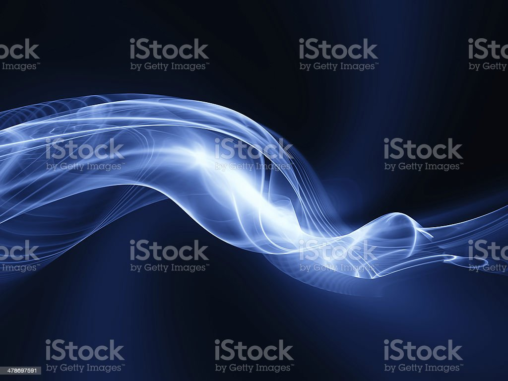 Fractal Waves Background stock photo