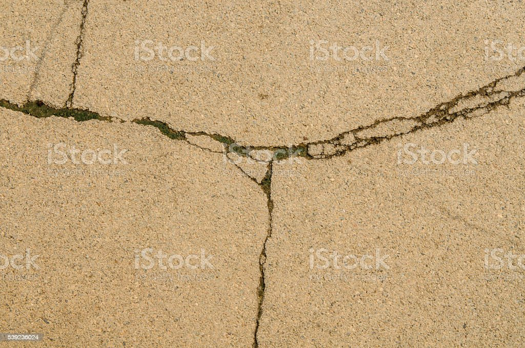 Fractured concrete surface  background. royalty-free stock photo