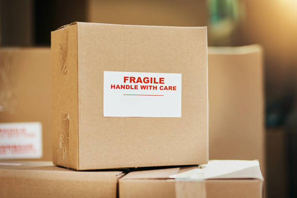 fragile contents inside - fragile stock pictures, royalty-free photos & images