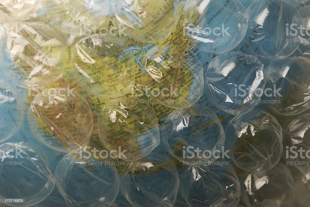 Fragile Earth royalty-free stock photo