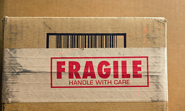 fragile handle with care - fragile stock pictures, royalty-free photos & images