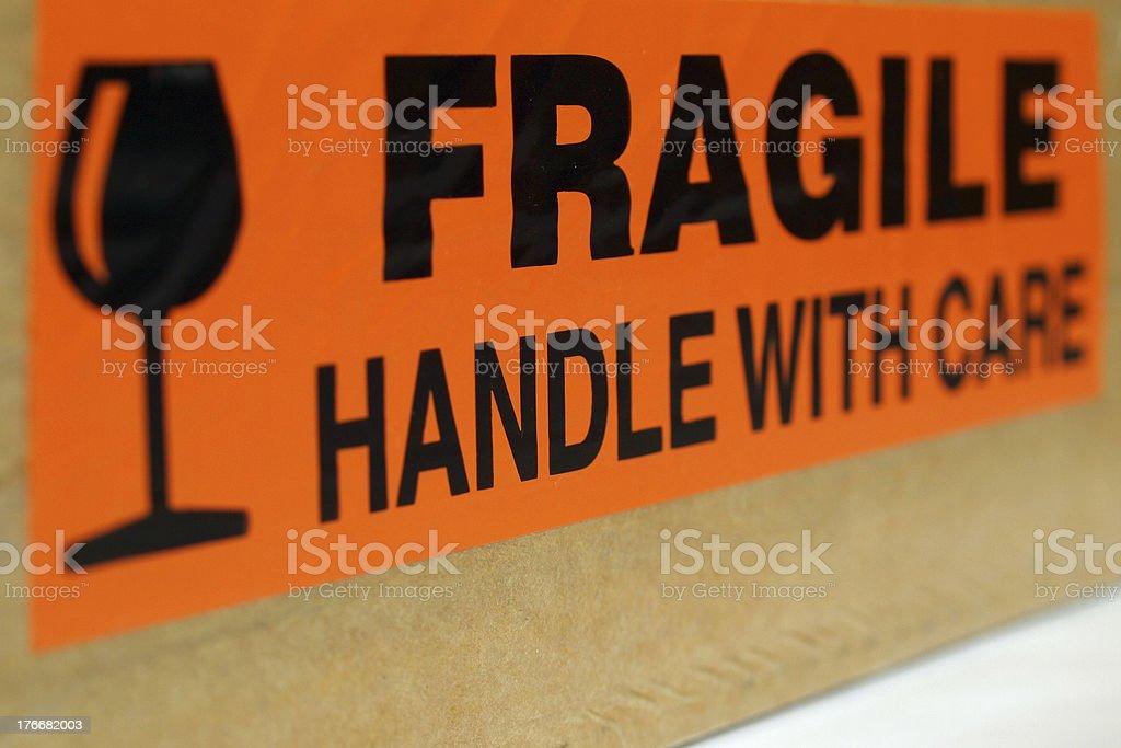 Fragile royalty-free stock photo