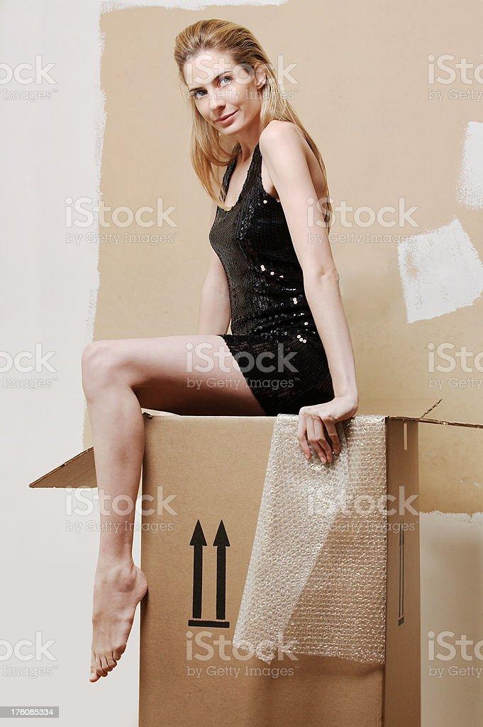 Fragile Shipping stock photo