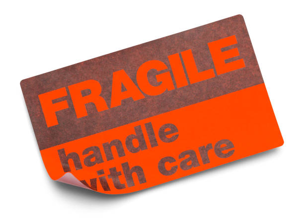 fragile sticker - fragile stock photos and pictures