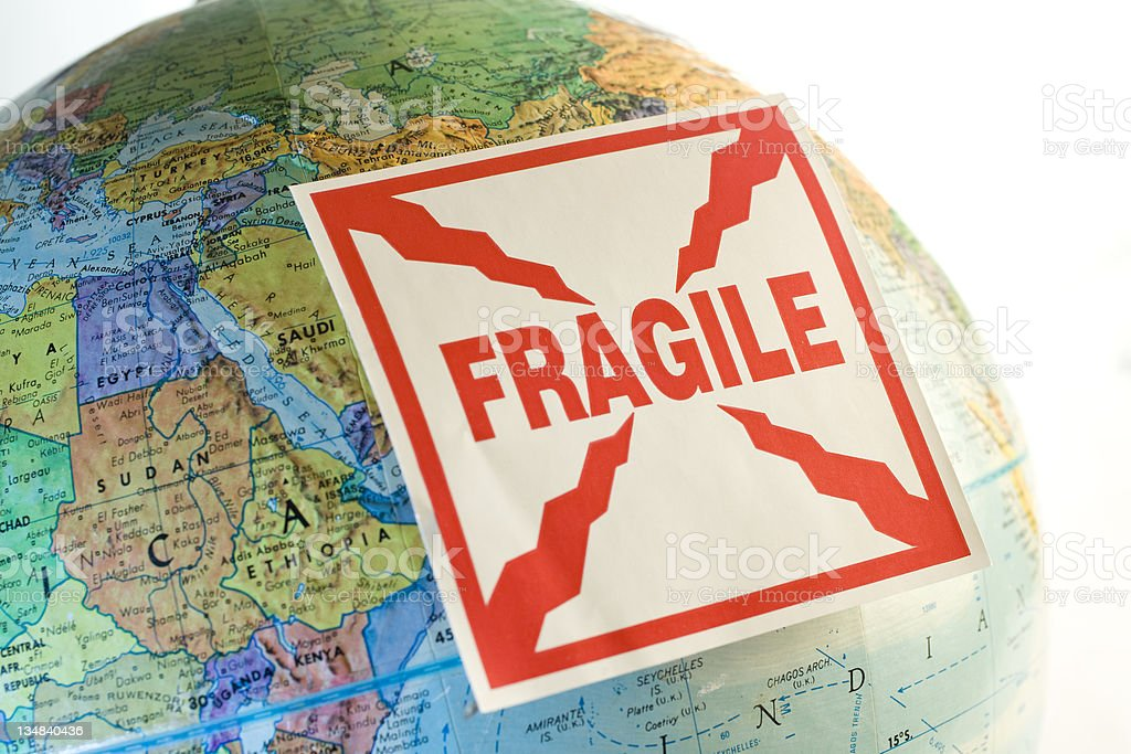 Fragile world royalty-free stock photo